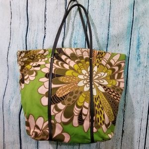 Kate Spade Floral Canvas Tote